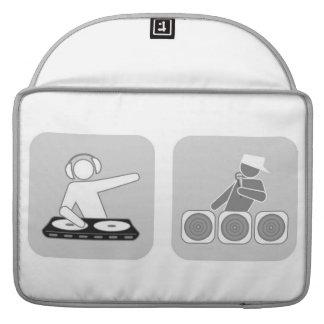 Manga del ordenador portátil del lazo de EDM Quant Fundas Para Macbooks