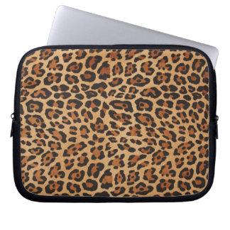 manga del ordenador portátil del leopardo mangas computadora