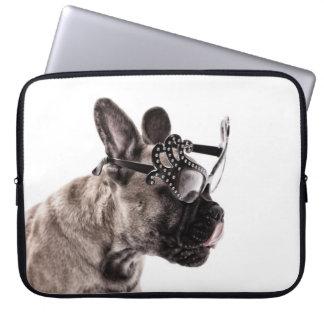 Manga del ordenador portátil del neopreno del dogo fundas ordendadores