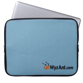 Manga del ordenador portátil del neopreno del logo fundas ordendadores