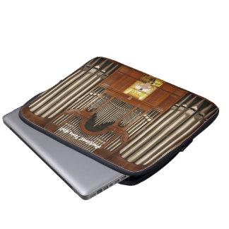 Manga del ordenador portátil del órgano de Aucklan Fundas Portátiles