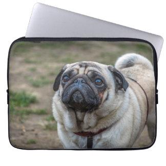 Manga del ordenador portátil del perro del barro mangas computadora