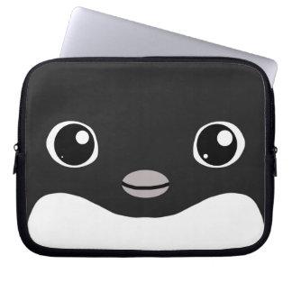 Manga del ordenador portátil del pingüino de Adeli Funda Ordendadores