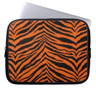 Manga del ordenador portátil del tigre funda computadora