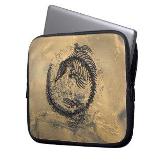Manga del ordenador portátil, dinosaurio fósil fundas ordendadores