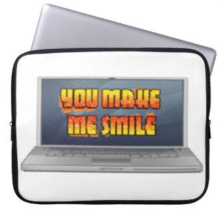 Manga del ordenador portátil fundas computadoras
