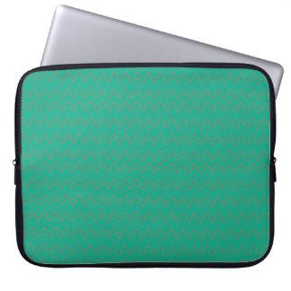 Manga del ordenador portátil, modelo geométrico de fundas portátiles