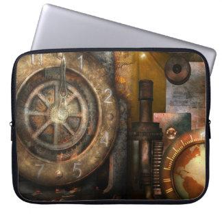Manga del ordenador portátil - tiempo universal de fundas computadoras