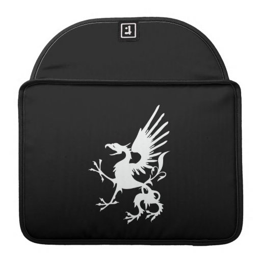 Manga desenfrenada de MacBook Pro del dragón del d Funda Macbook Pro