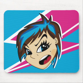 Manga diseñó al chica Mousepad de Emo
