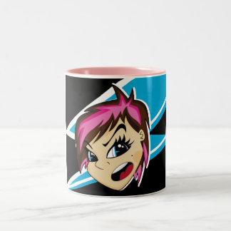 Manga diseñó la taza del chica de Emo