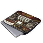 Manga divertida del ordenador portátil del órgano  fundas computadoras