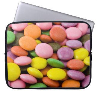Manga dulce del ordenador portátil de los caramelo fundas ordendadores