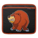 Manga enojada del iPad del oso Manga De iPad
