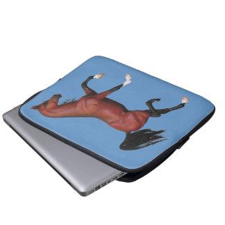 Manga equina del ordenador portátil del potro del  funda portátil
