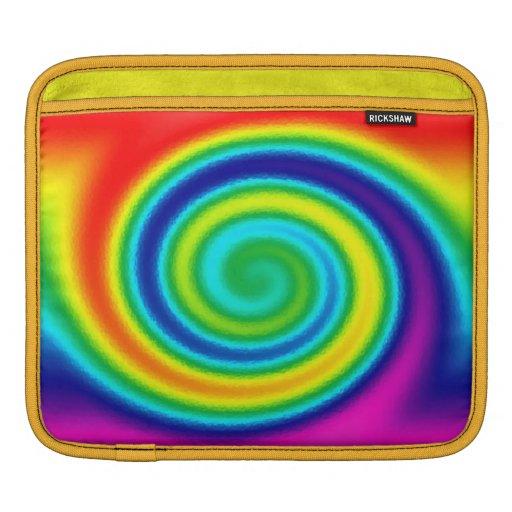 manga espiral del iPad del carrito del arco iris Manga De iPad