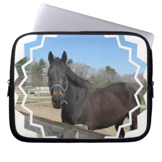 Manga excelente del ordenador portátil del caballo fundas portátiles