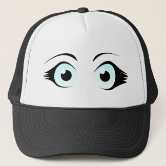 Manga Eyes Hat