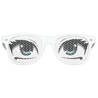 Manga Eyes Retro Sunglasses