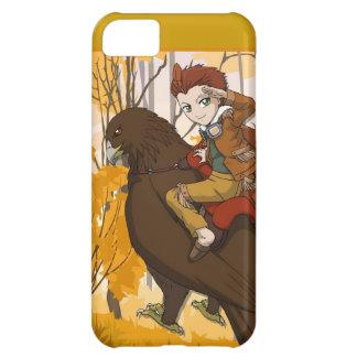Manga fairy, Boy fairy hitching a ride iPhone 5C Cases