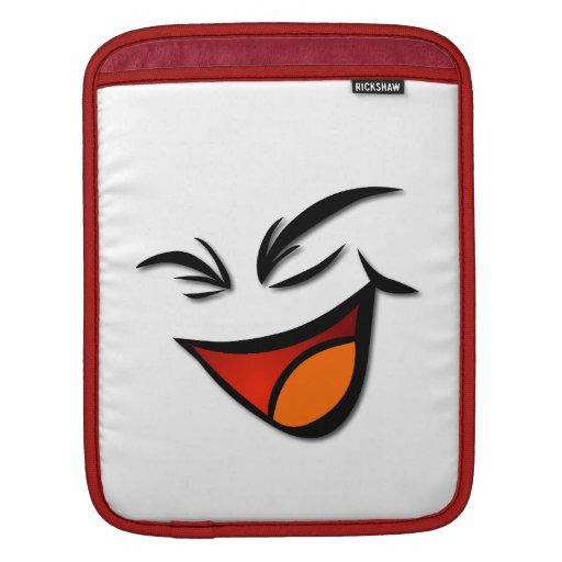 Manga feliz del iPad de la cara Fundas Para iPads