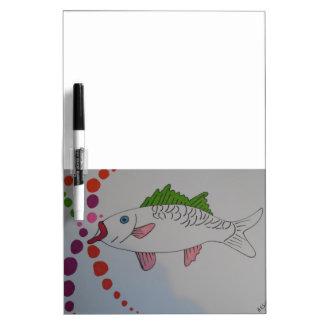 Manga fish Dry-Erase board