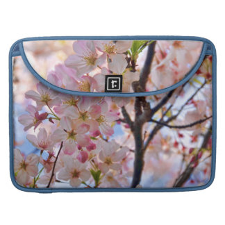 Manga floreciente de la aleta del carrito del fundas para macbooks