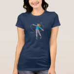 Manga Girl Hearts graffiti - T-shirt