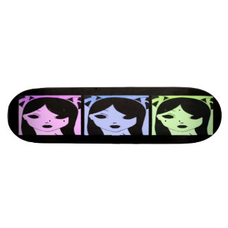 Manga Girls Skateboard