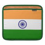 Manga india del carrito de la bandera funda para iPads