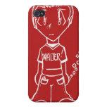 manga iPhone 4 protectores