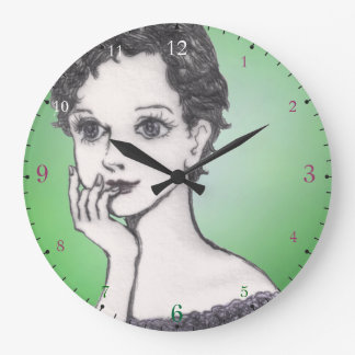 manga Japón del dibujo del chica Relojes