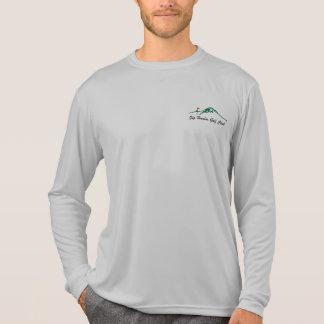 Manga larga de Deporte-TEC de los hombres Camisetas