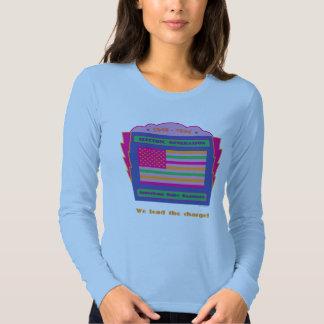 Manga larga de la camiseta del nacido en el baby remera