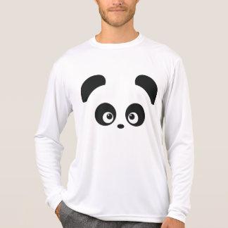 Manga larga de la Micro-Fibra de Panda® del amor Remera