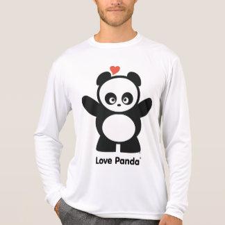 Manga larga de la Micro-Fibra de Panda® del amor Remeras