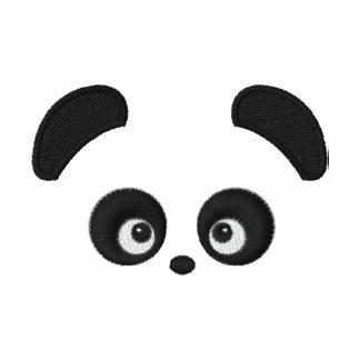 Manga larga de las señoras de Panda® del amor