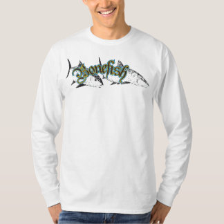 Manga larga del Bonefish Remera