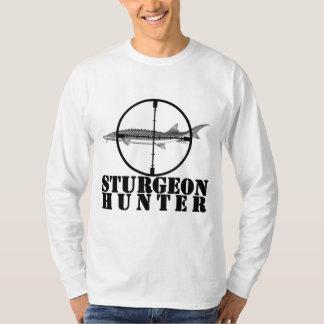 Manga larga del cazador del esturión polera