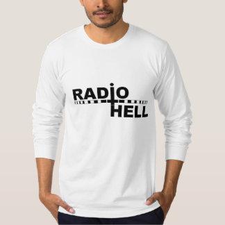Manga larga del infierno de radio playeras