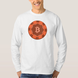 "Manga larga del ""microprocesador"" de Bitcoin (BTC) Remeras"