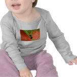 Manga larga infantil de Caterpillar del visitante  Camisetas