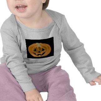 Manga larga infantil de la linterna de Jack O Camiseta