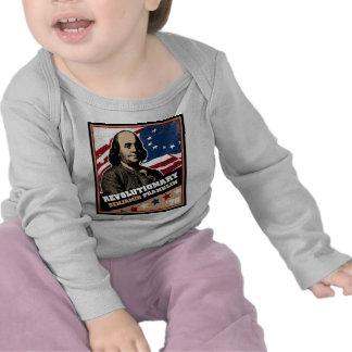 Manga larga infantil revolucionaria de Benjamin Camisetas