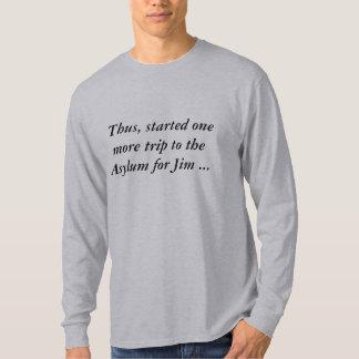 Manga larga recuperada de la camiseta de las