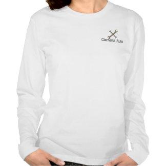 Manga larga T de las señoras autos de Clemenzi Camiseta