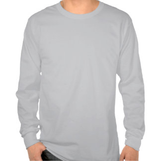 Manga larga T del potro del caballo de Clydesdale  Camisetas