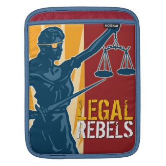 Manga legal del iPad de los rebeldes Fundas Para iPads