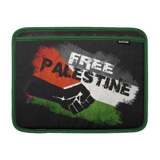 Manga libre del ordenador portátil de Palestina Fundas Para Macbook Air