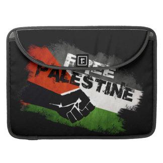 Manga libre del ordenador portátil de Palestina Funda Para Macbook Pro